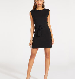 Buckle Up Dress Black