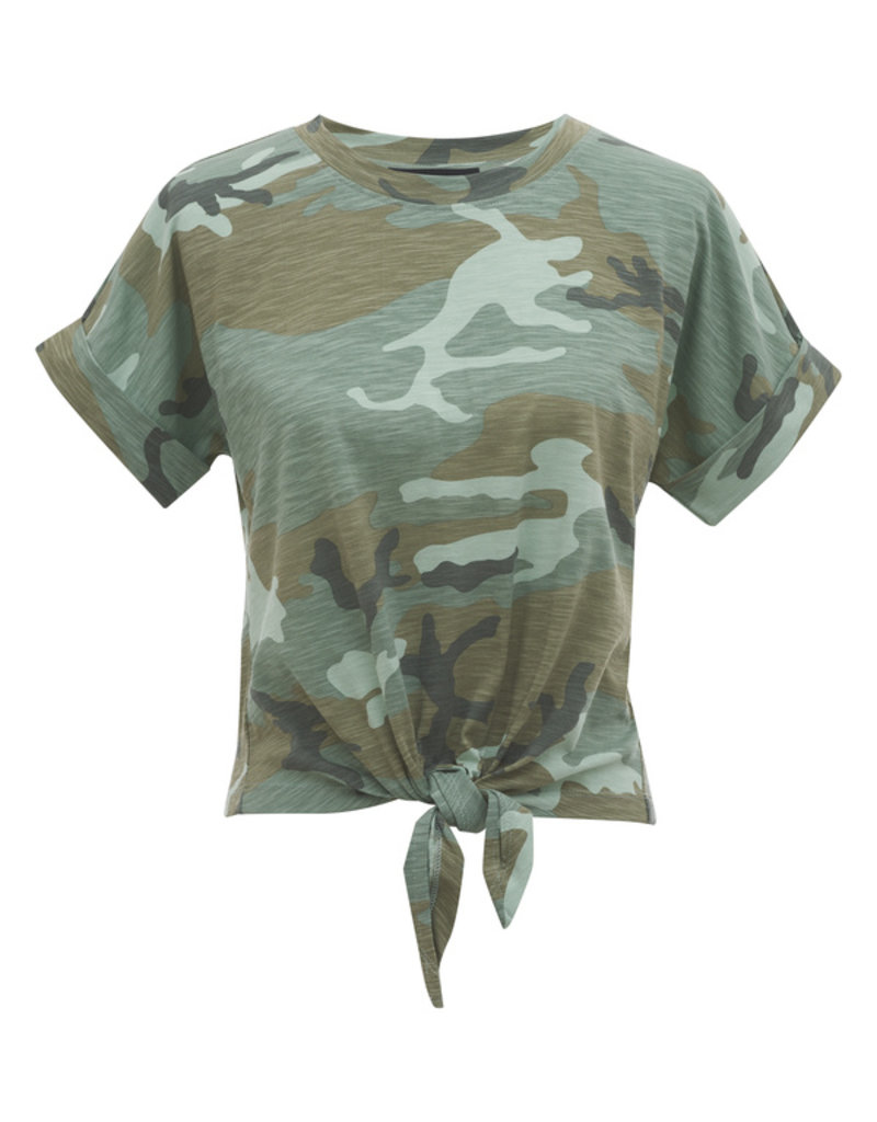 All Day Tie Tee Desert Sage Camo