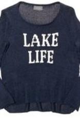 Lake Life Crew Indigo/White