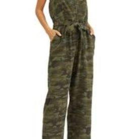 Breezy Jumpsuit Camo Green