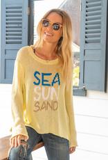 Sea Sun Sand Crew Yellow