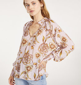 Go with the Flow Top Rose