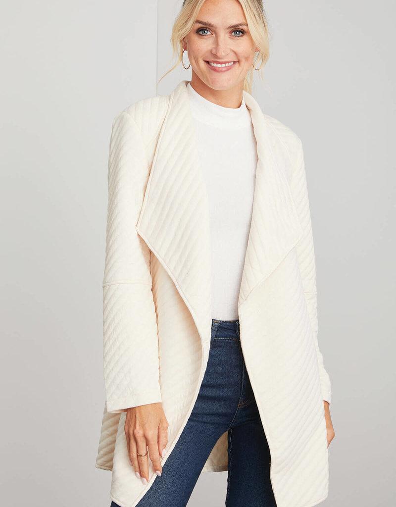 Soft Landing Coat Pearl