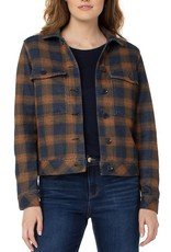 Jacket With Patch Pockets Navy