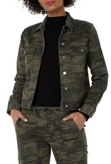 Jacket With Patch Pockets Camo