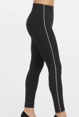 The Perfect Pant Piped Black