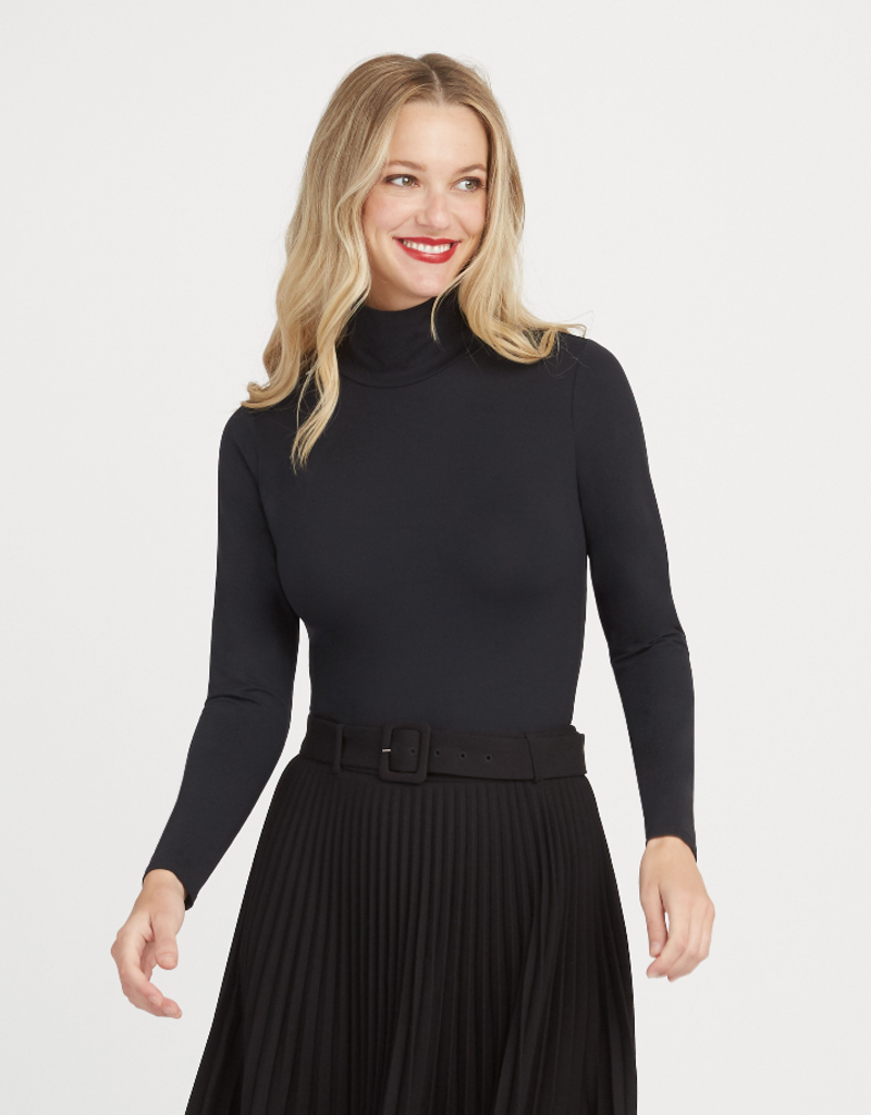 Suit Yourself Long Sleeve Turtleneck Bodysuit