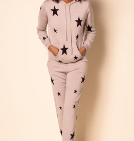 The Marbella Star Hoodie Taupe