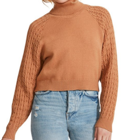 Put A Wing On It Sweater Camel