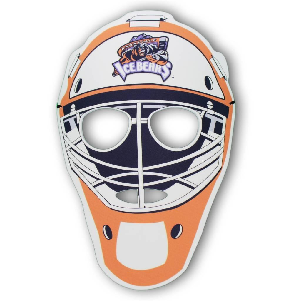EVA Foam Goalie Mask with Full Color Print