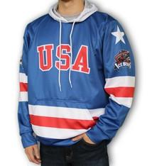 K1 USA w/ Ice Bears Hoodie Sublimated