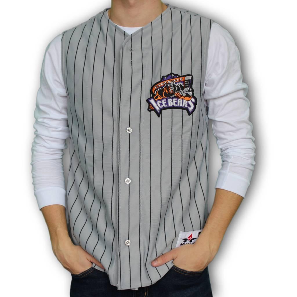 Grey KIB Baseball Vest - Small