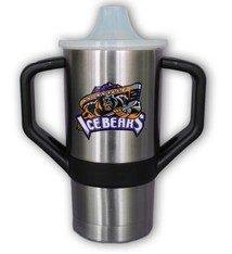 GameTime Sidekicks 8 oz. Stainless Steel Sippy Cup with Logo