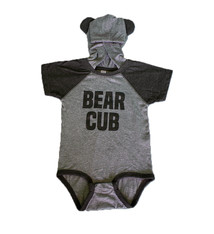 Rabbit Skins Bear Cub Hooded Onesie