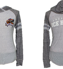 Holloway Women's Grey Athletic Hooded Pullover