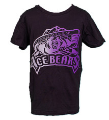 Bella Youth Purple/Silver Gradient Tee