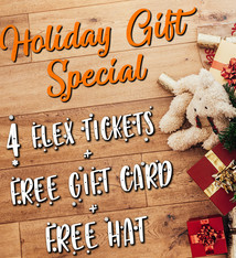Knoxville Ice Bears Holiday Ticket Pack (Silver)