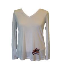 Bella Women's Long-Sleeve Hip Logo'd Shirt