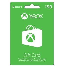 XBOX $50 LIVE CARD