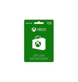 XBOX $25 LIVE CARD