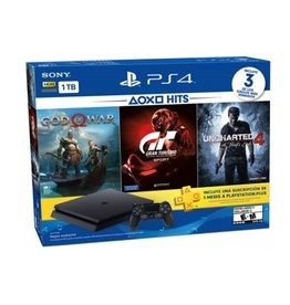 PS4 PS4 1TB Hits Bundle 3 Games