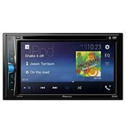 "Pioneer 2-Din DVD Receiver 6.2"" Display AVH210EX"