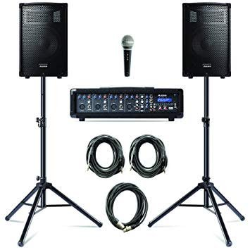 Alesis Alesis Pa in a Box Bundle 280W 4-Channel System
