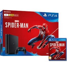 PS4 Slim 1TB Spiderman Bundle