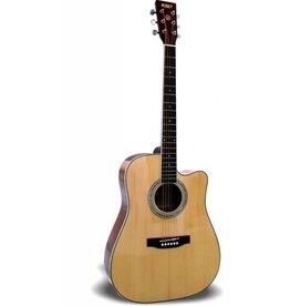 "Palmer Palmer PF23CEQ-FSH 40"" Acoustic Guitar"