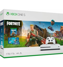 XONE Microsoft Xbox One S 1TB Fortnite Bundle 4K Ultra HD Blu-ray