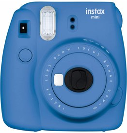 Fuji 16550667 Film Instax Mini 9 Camera (Cobalt Blue)