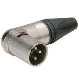 Neutrik Neutrik NC3MRX XLR 3 Pin Angled Male Connector
