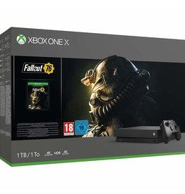 XONE XONE 1TB XBOX ONE X Black w/Fallout 76