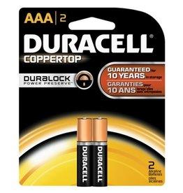 Duracell Duracell AAA 2 Pack Batteries