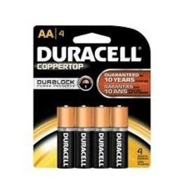 Duracell Duracell AA 4 Pack AAX4 BATTERY