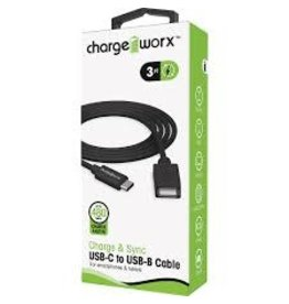Charge Worx ChargeWorx CX4628BK Cable