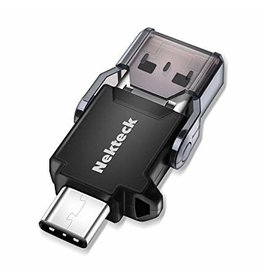Nekteck Nekteck USB Type C OTG Micro SD Card Reader