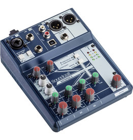 Soundcraft Soundcraft NOTEPAD-5 Mixer with Effects and USB 5 Channel