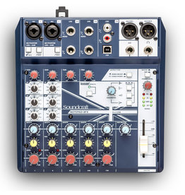Soundcraft Soundcraft NOTEPAD-8FX Mixer with Effects and USB 8 Channel