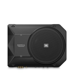 "JBL JBL BASSPROSL 8"" compact powered under-seat subwoofer enclosure"