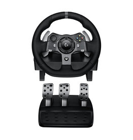 LOGITECH Logitech G920 Driving Force - Wheel and pedals set - wired - for PC