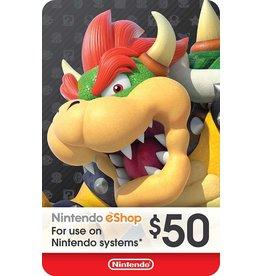 Nintendo Nintendo eShop $50 Prepaid Card