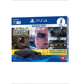 PS4 PlayStation 4 Slim 1TB Console Hits 5 Bundle