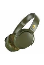 Skullcandy Skullcandy Riff On-Ear W/Tap Tech Moss/Olive/Yellow