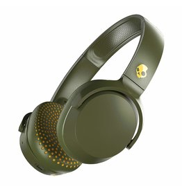 Skullcandy Skullcandy Riff On-Ear W/Tap Tech Moss/Olive/Yellow