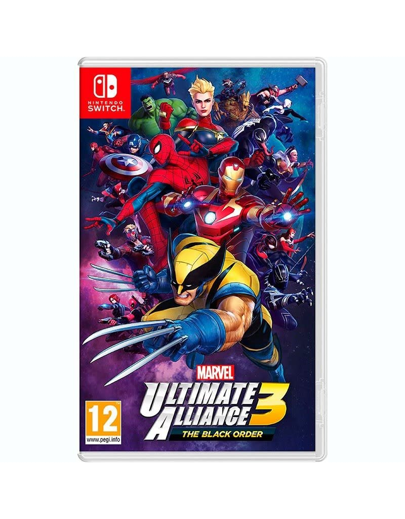 Switch Switch Marvel Ultimate Alliance 3 The Black