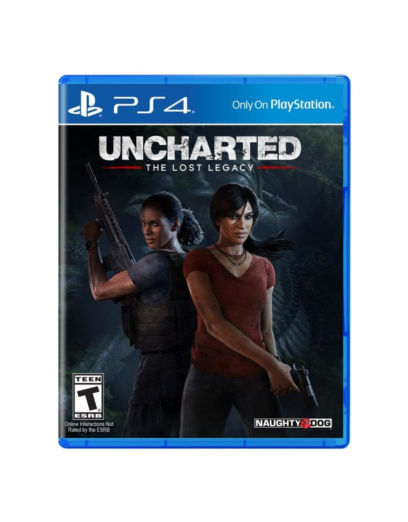 PS4 PS4 Uncharted the lost legacy