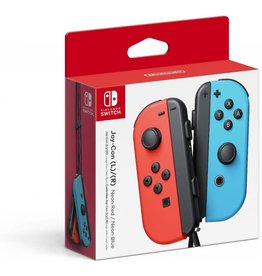 Switch Switch Joy-Con Neon Red Left & Neon Blue Right