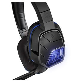 PS4 HEADSET AFTERGLOW LVL5 BLACK (PDP)
