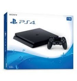 PS4 1 TB Slim Black Console System